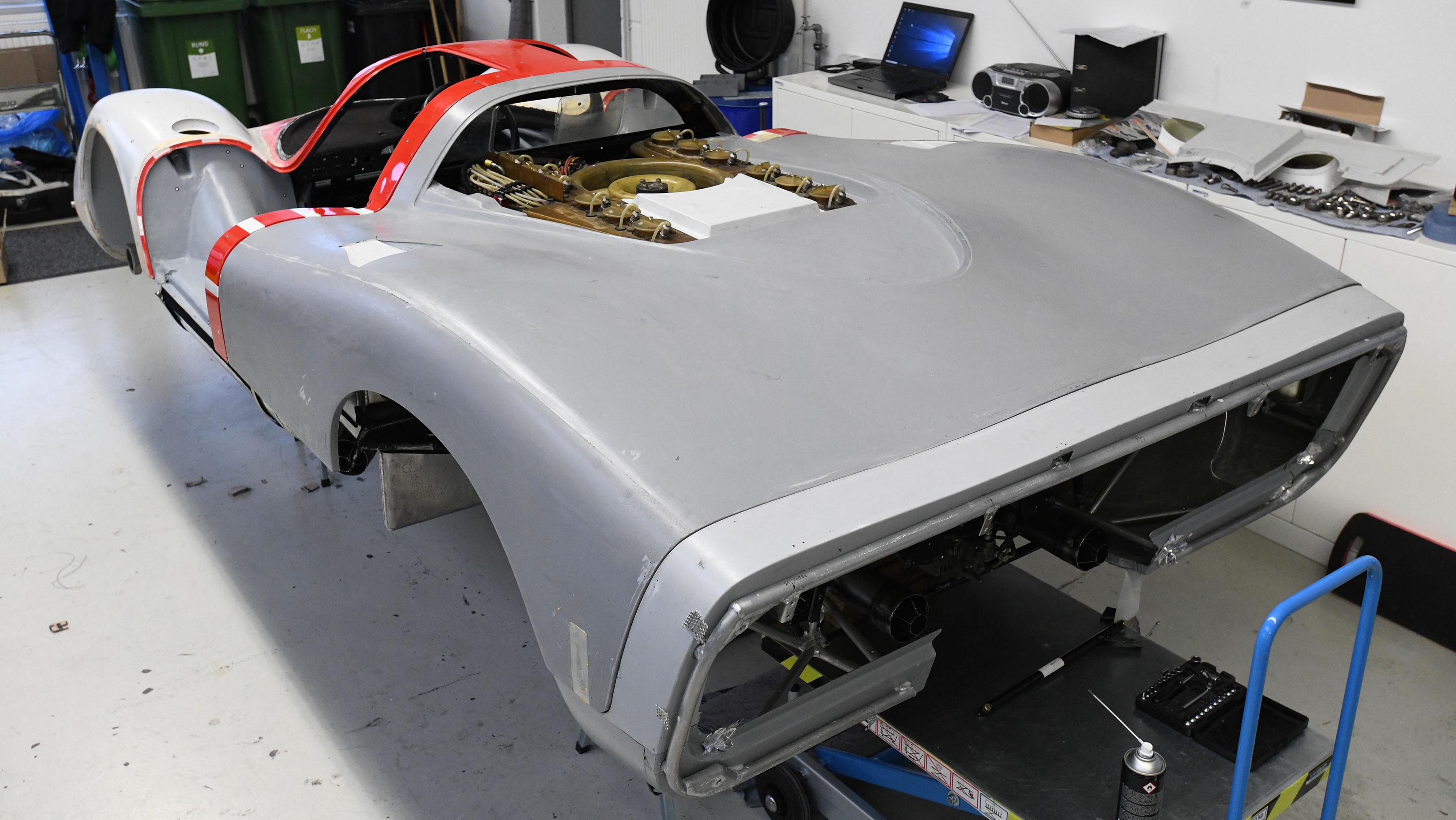 Porsche 917 tail