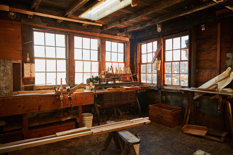 boat school workshop woodworking tools