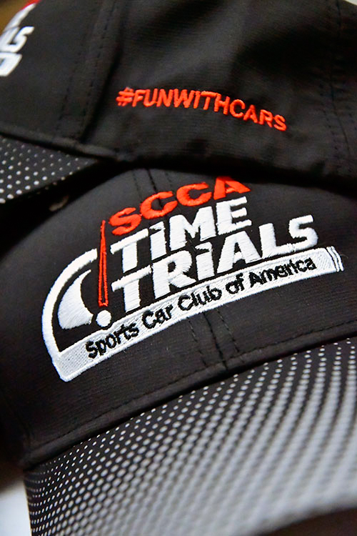 scca embroidered hats
