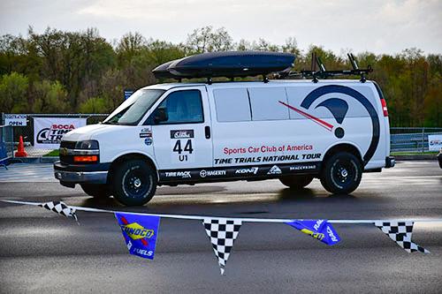 SCCA astro van