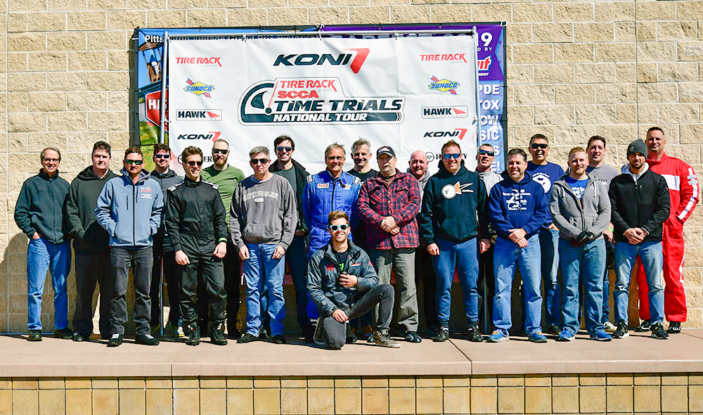 SCCA members time trials day