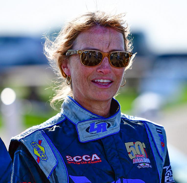 SCCA race car driver