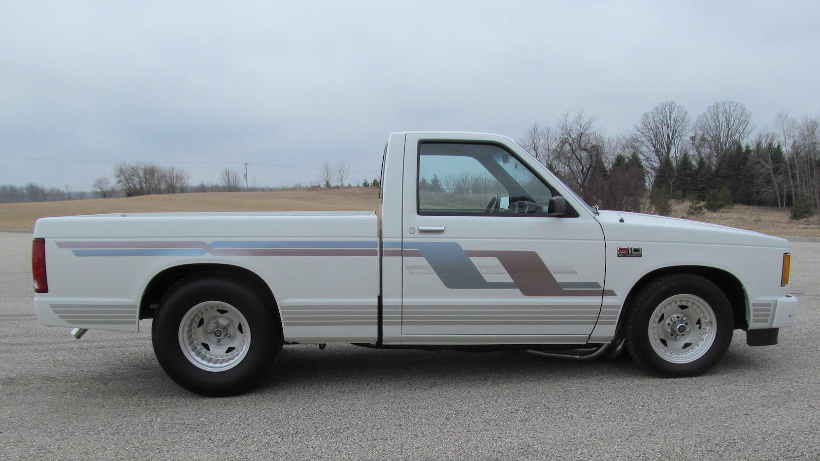 1987 Chevrolet S10 side profile