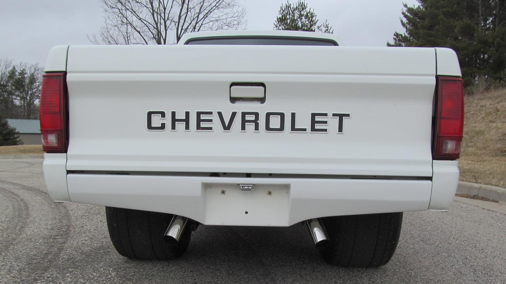 1987 Chevrolet S10 tailgate