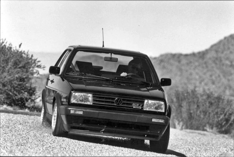 Volkswagen Mk2 GLI front
