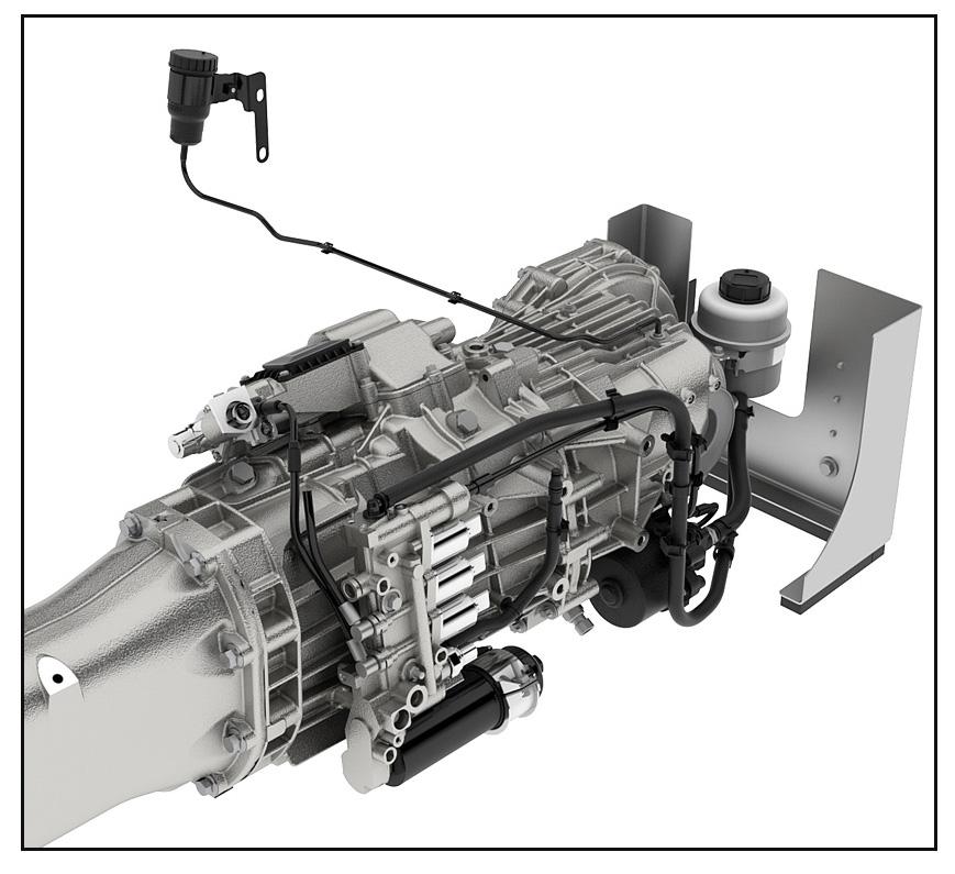 Aston Martin Graziano Gearbox