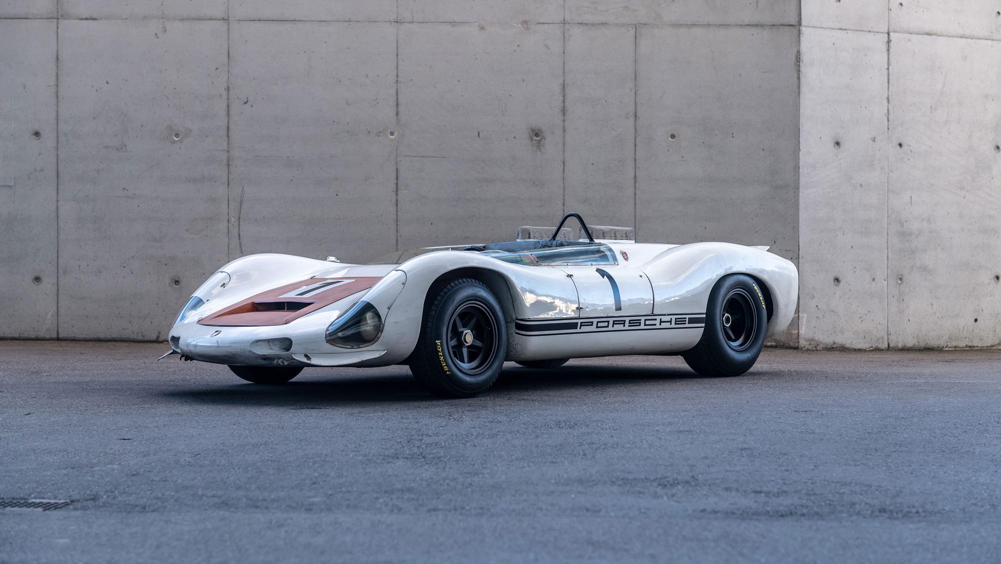 The historic race car Porsche won't restore thumbnail