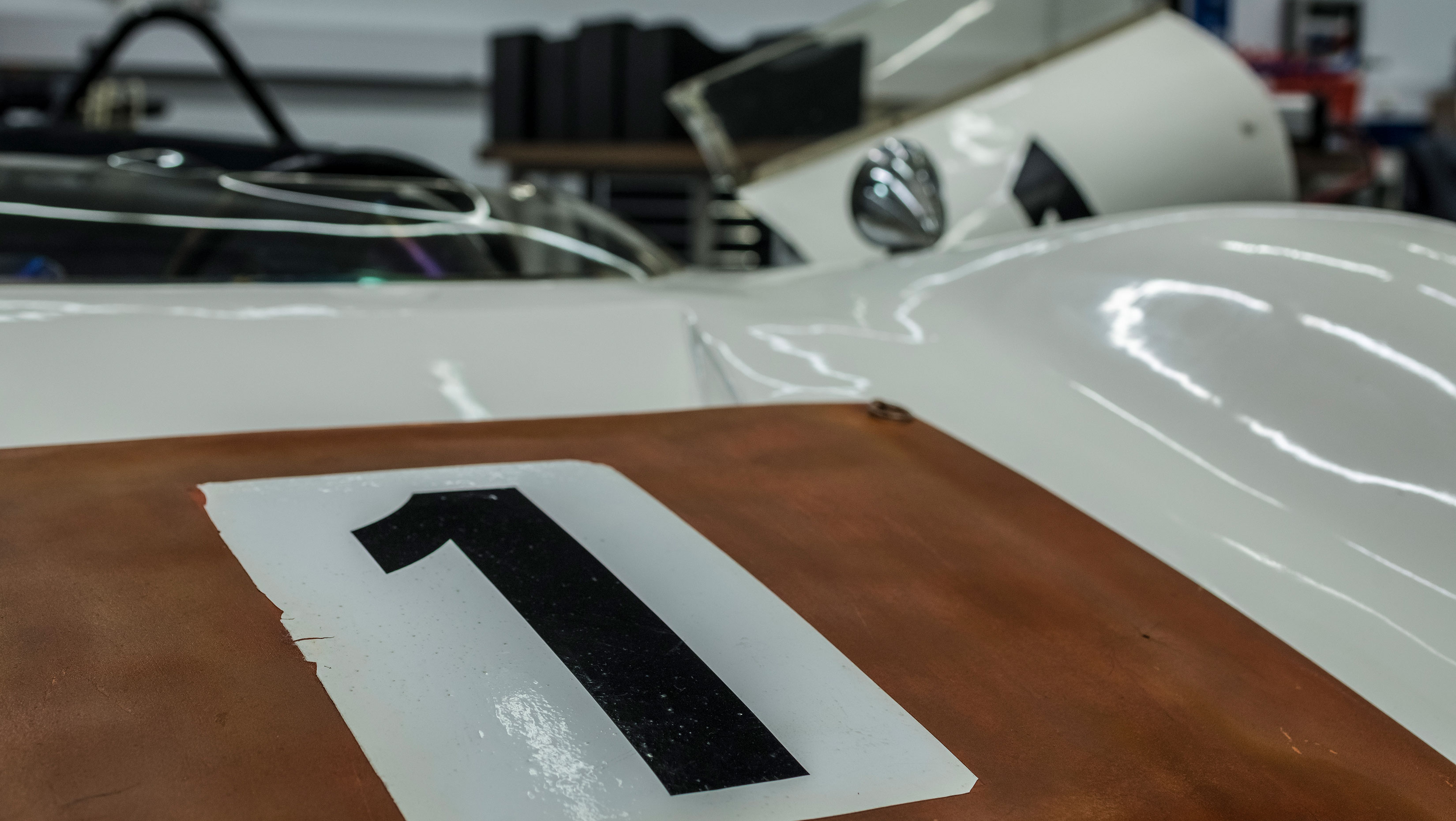 Porsche 910/8 Bergspyder hood
