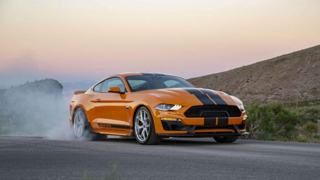 2019 Shelby GT-S burnout