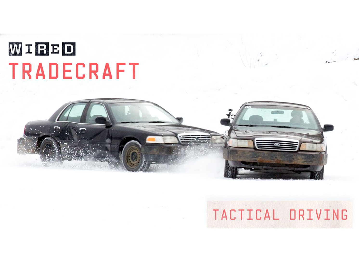 Team O'Neil Rally School drifts the heck out of the Ford Crown Vic thumbnail