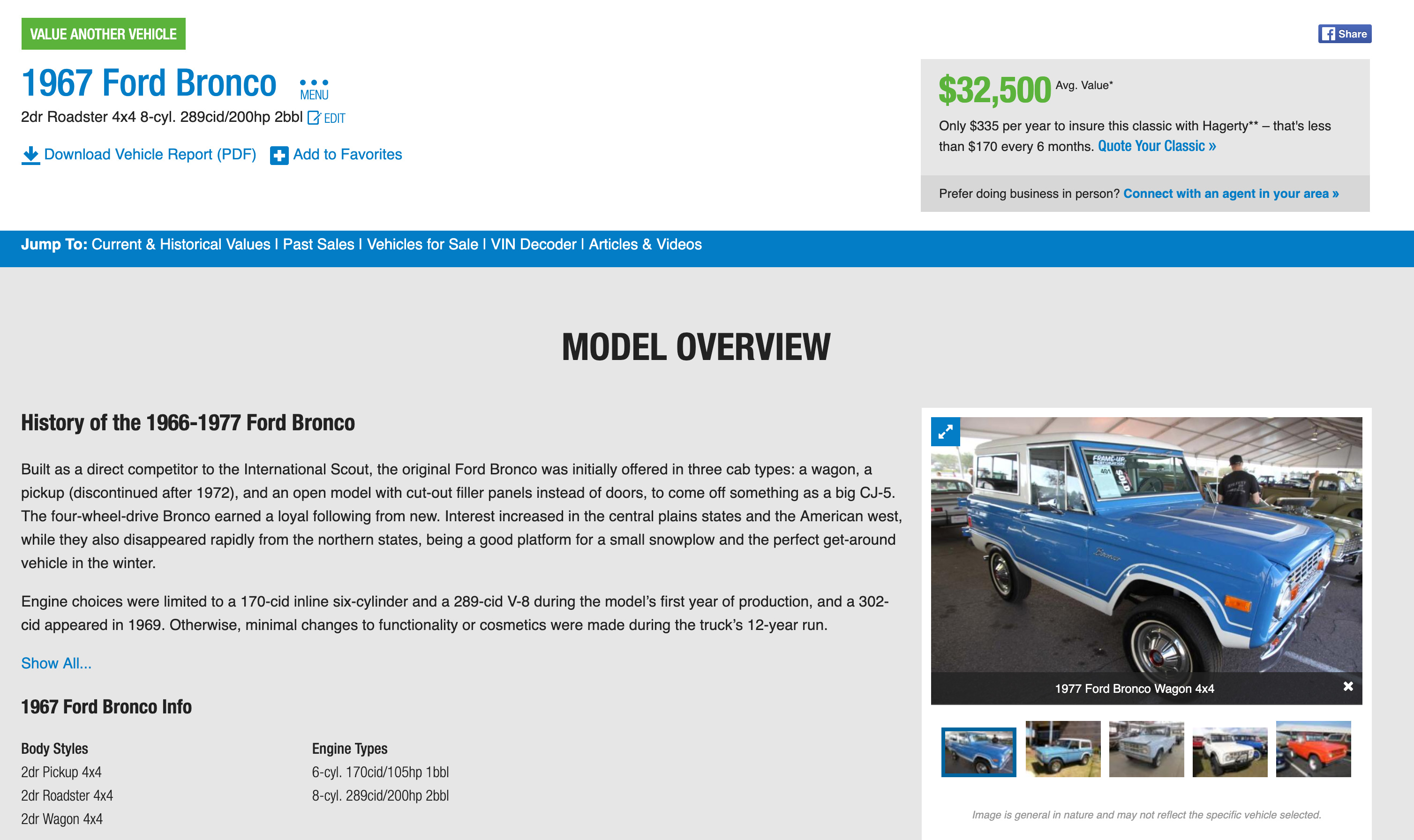 How much is your classic worth? Use the Hagerty Valuation Tool thumbnail