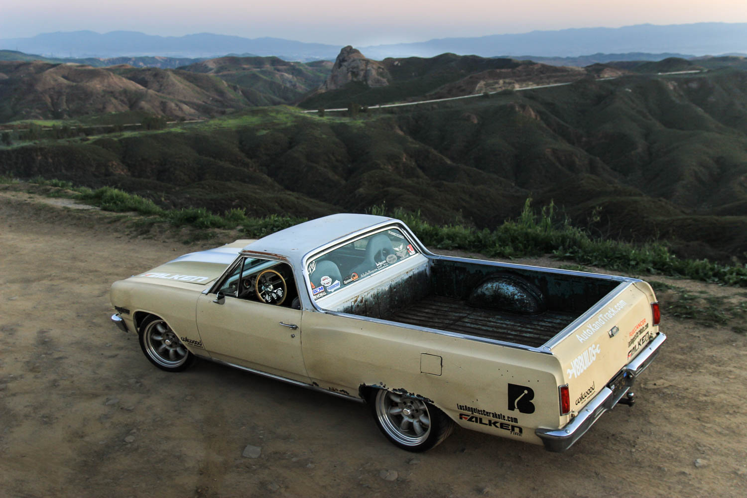 1965 Chevrolet EL Camino rear 3/4