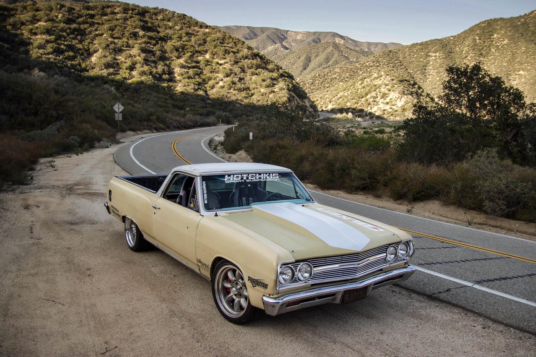 1965 Chevrolet EL Camino overhead