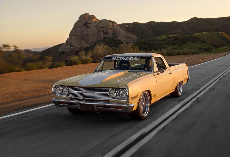 1965 Chevrolet EL Camino driving