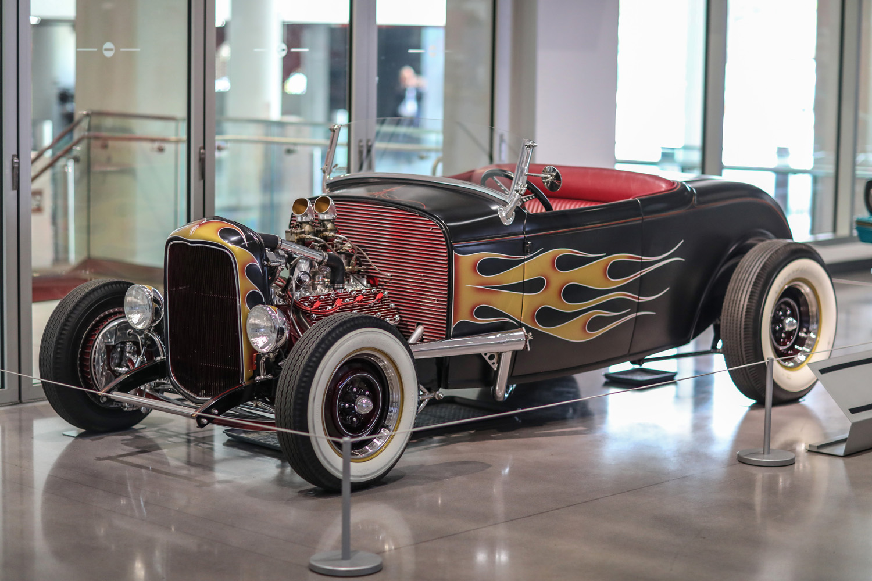 1932 Ford Flathead Roadster, Iron Man & Iron Man 2