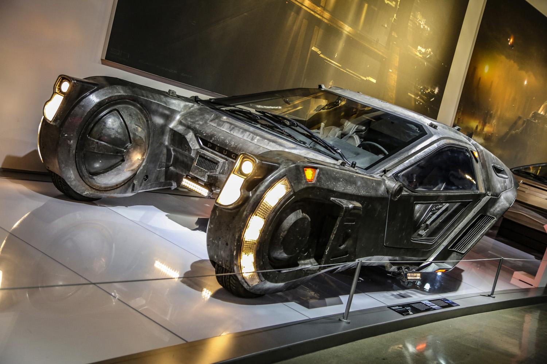 Luv's spinner from Blade Runner 2049