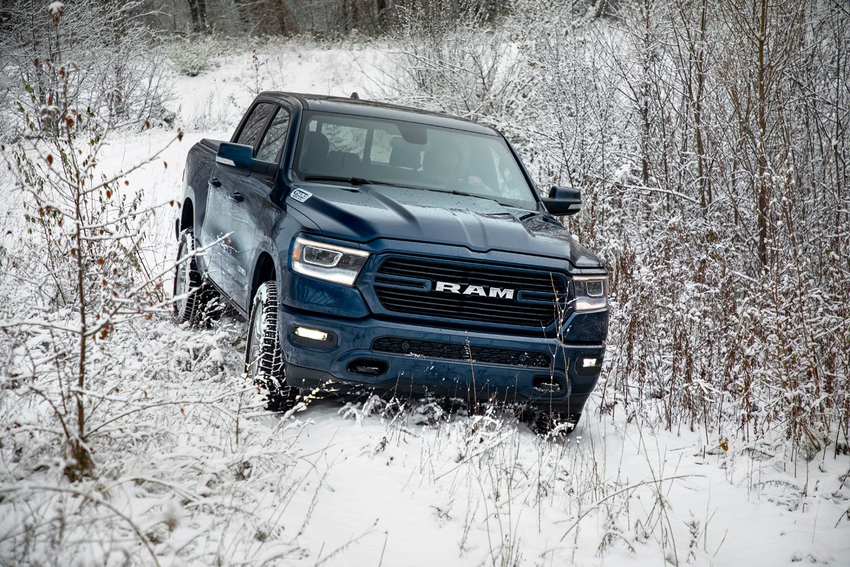 2019 Ram 1500 North Edition winter driving