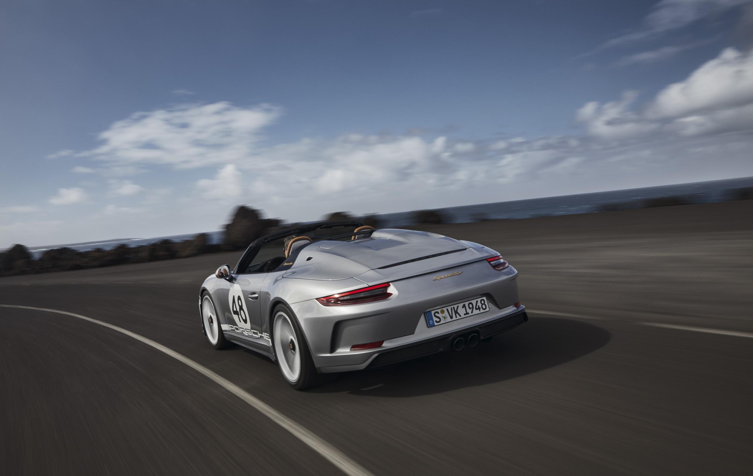 Porsche 911 Speedster rear 3/4