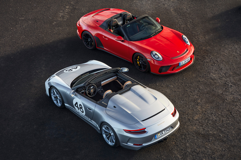 Orders open for 2019 Porsche 911 Speedster thumbnail