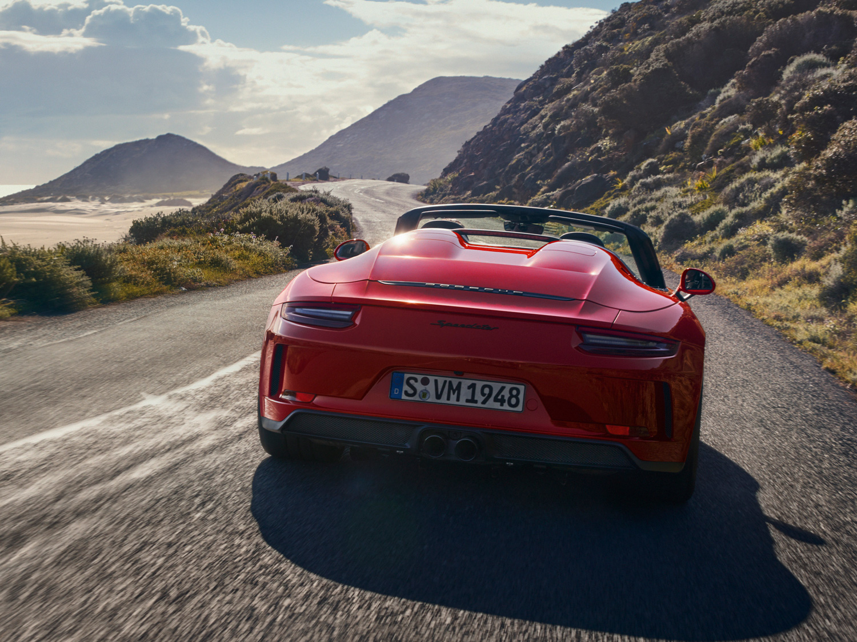 Porsche 911 Speedster rear