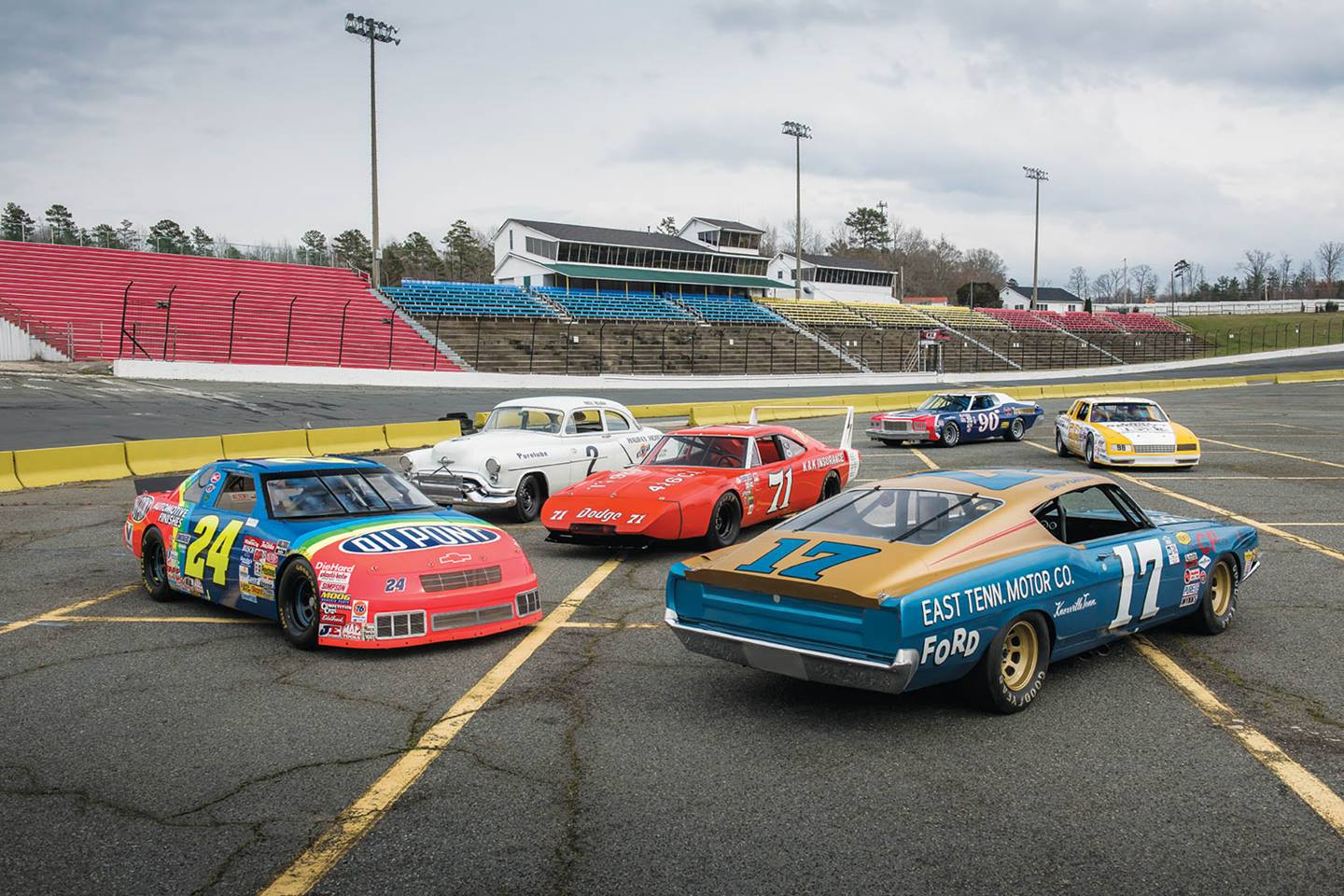 "The house that France built: Five generations of NASCAR racers. Why Bill France? Said Bill Blair, Jr.: ""He was a race-car driver, he was six feet tall, he had a keen voice, and they just believed in him."""