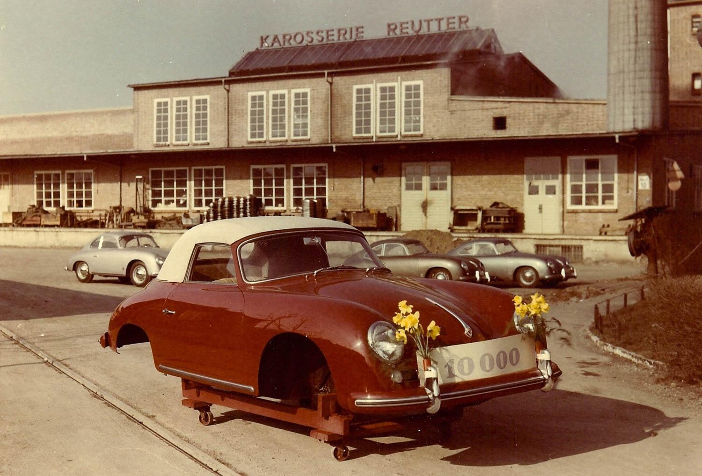 10,000ster Reutter Porsche 1956