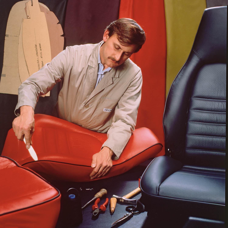 Sitzfertigung RECARO 1980