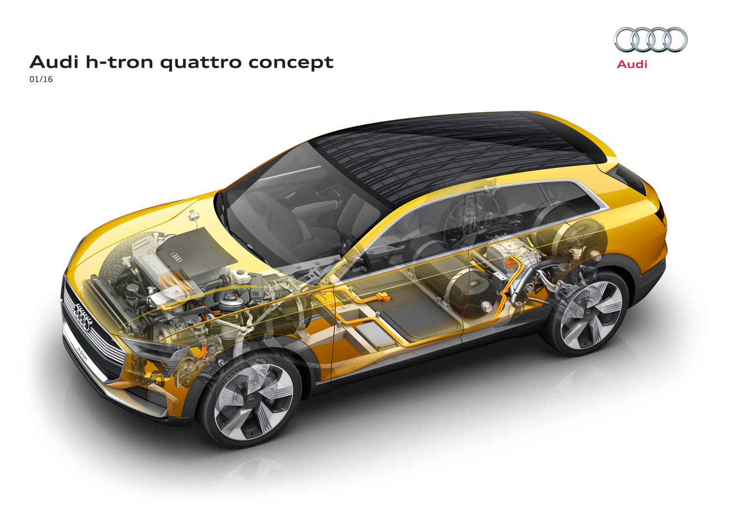 Audi h-tron diagram