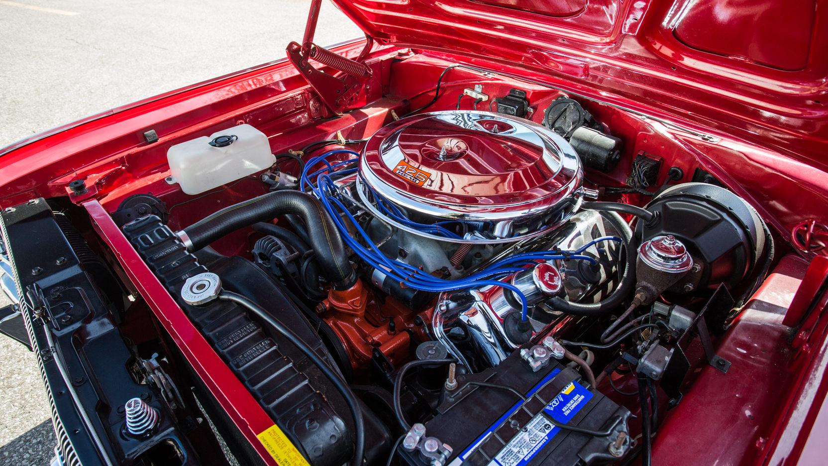 1966 Dodge Charger engine