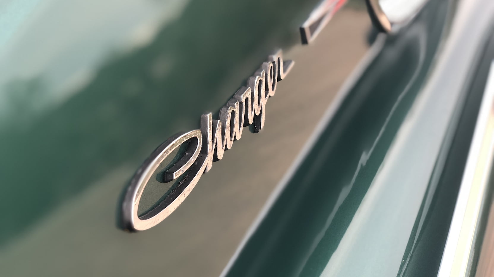 1966 Dodge Charger badge
