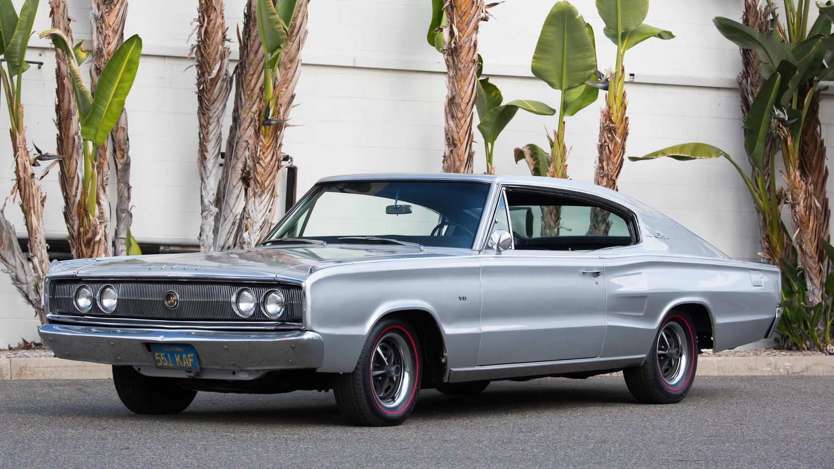 1967 Dodge Charger front 3/4