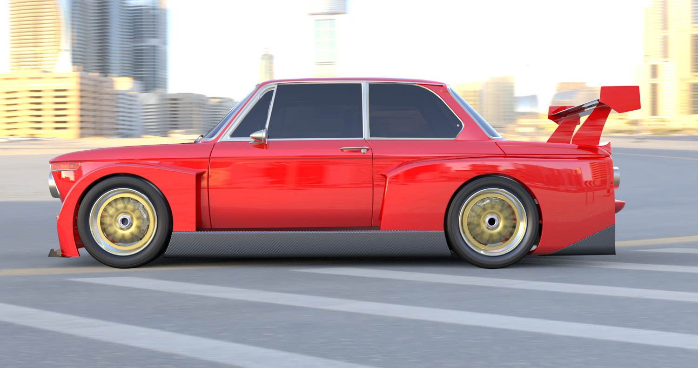 BMW 2002 side profile
