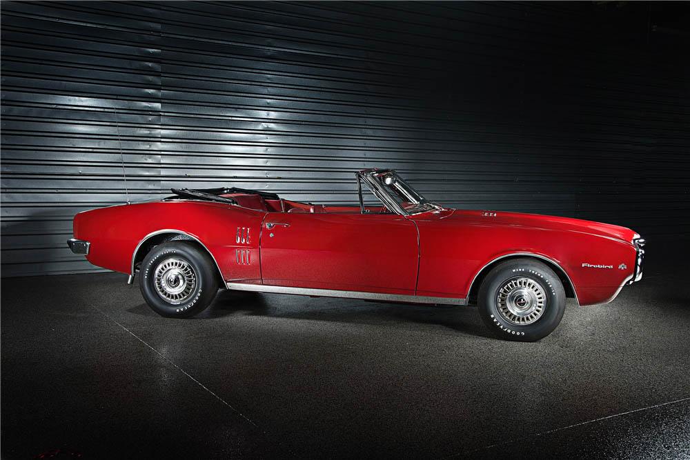 1967 Pontiac Firebird side profile