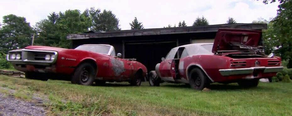 1967 Pontiac Firebird found