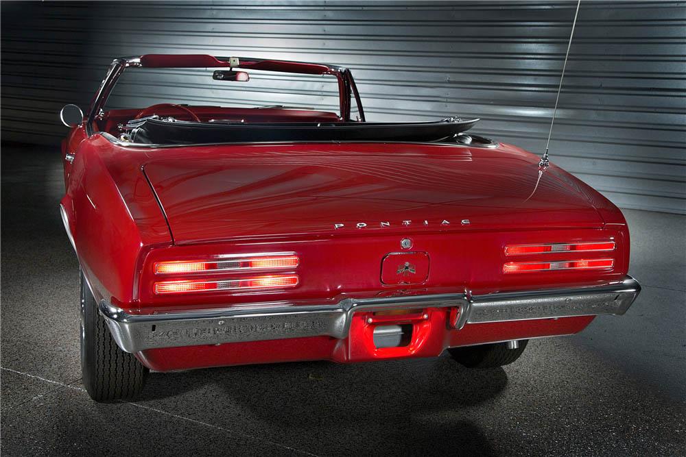 1967 Pontiac Firebird rear