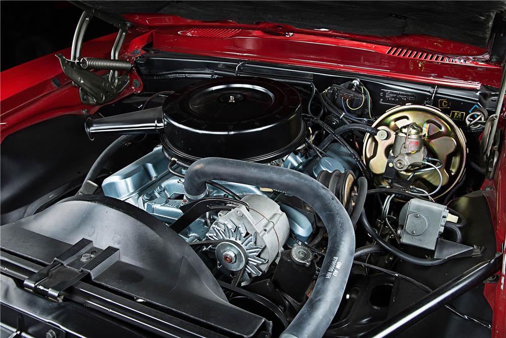 1967 Pontiac Firebird engine