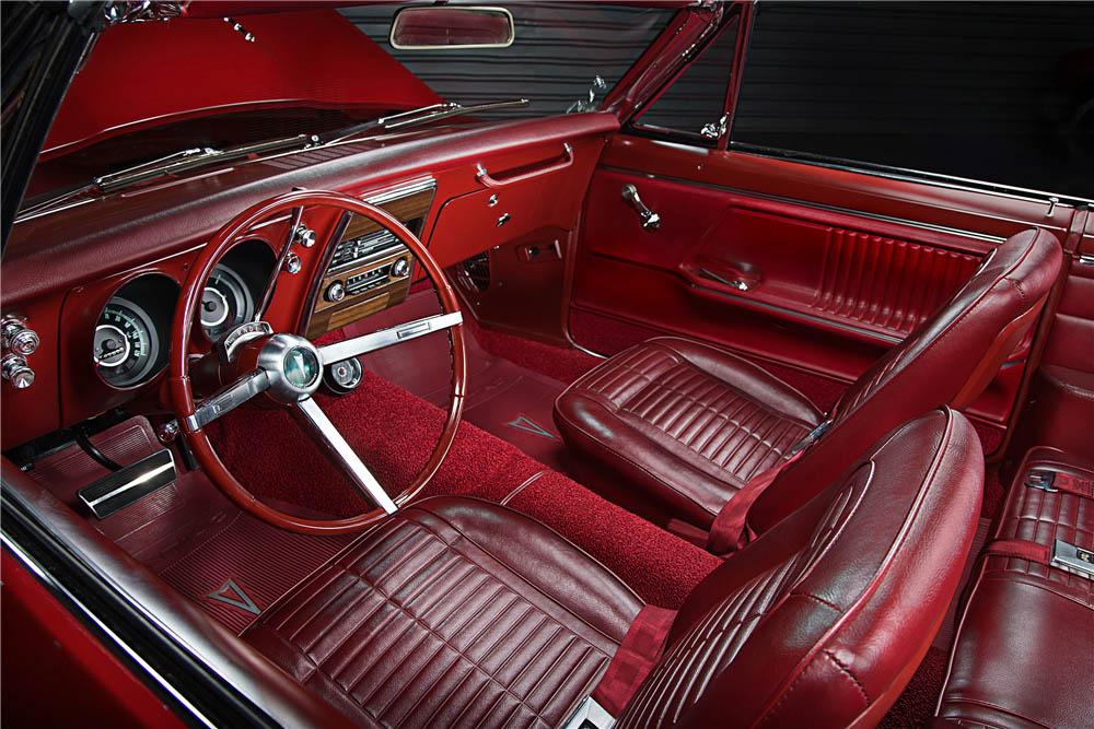 1967 Pontiac Firebird interior