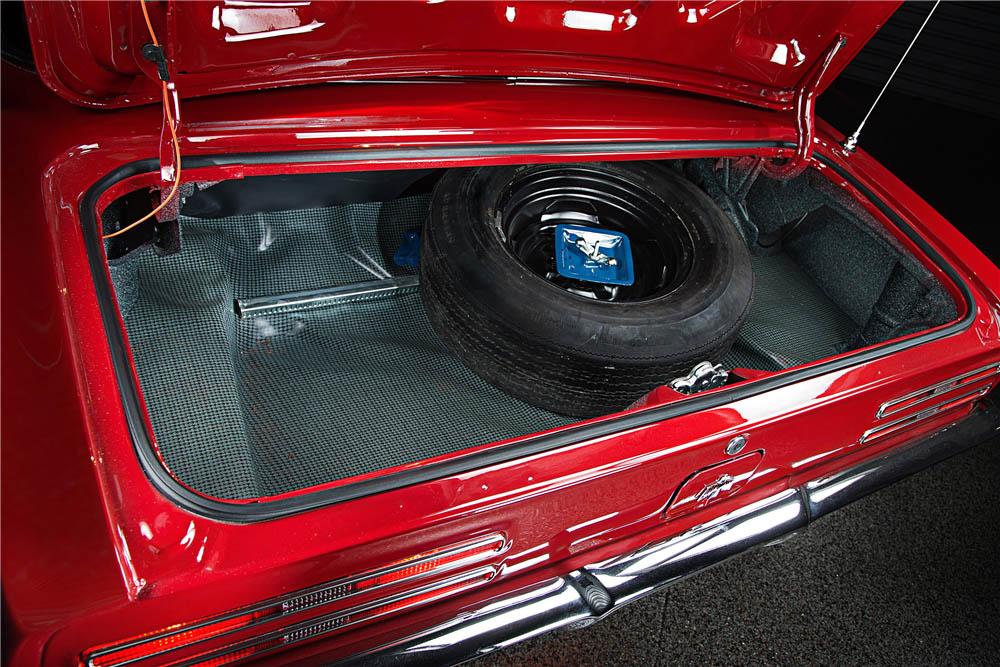 1967 Pontiac Firebird trunk