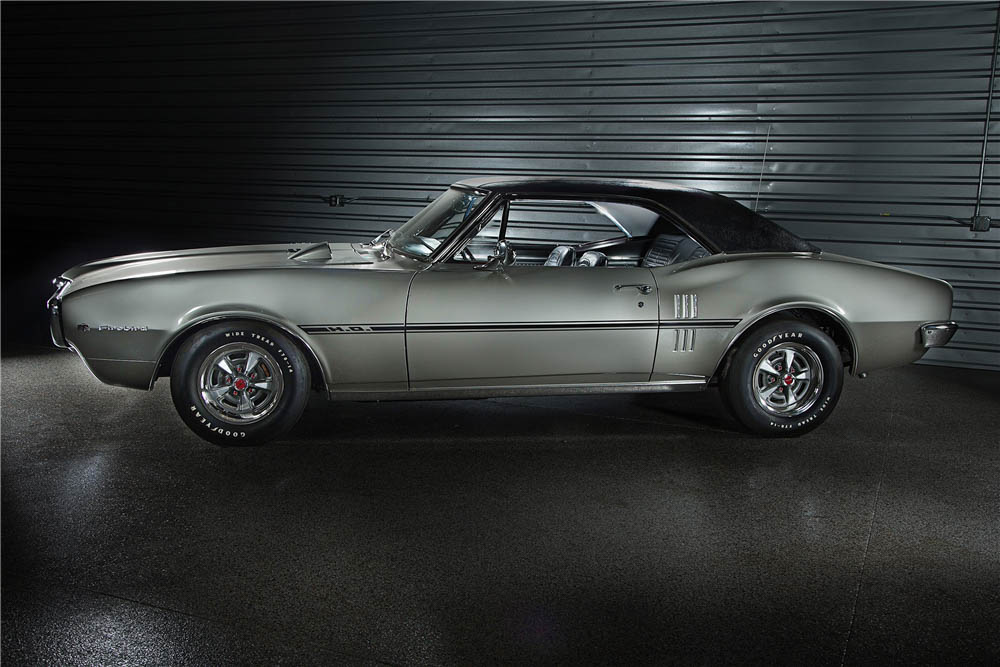 1967 Pontiac Firebird profile