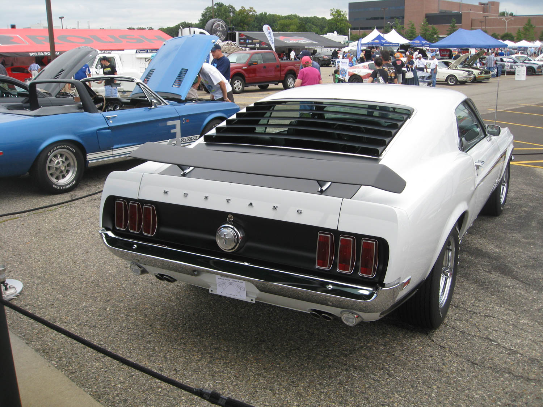 1969 Ford Mustang Boss Prototype rear