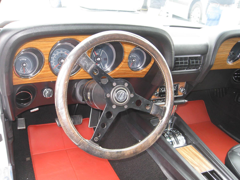 1969 Ford Mustang Boss Prototype steeringwheel
