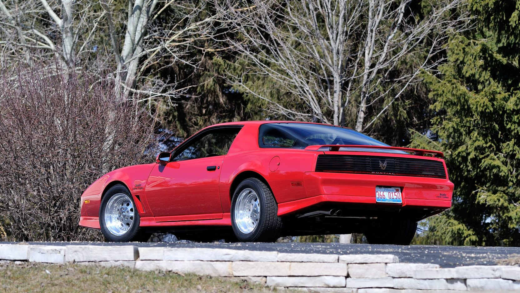 1982 Pontiac Trans Am rear 3/4