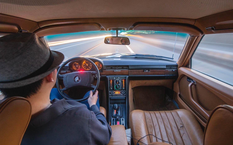 1974 Mercedes-Benz 450SEL interior
