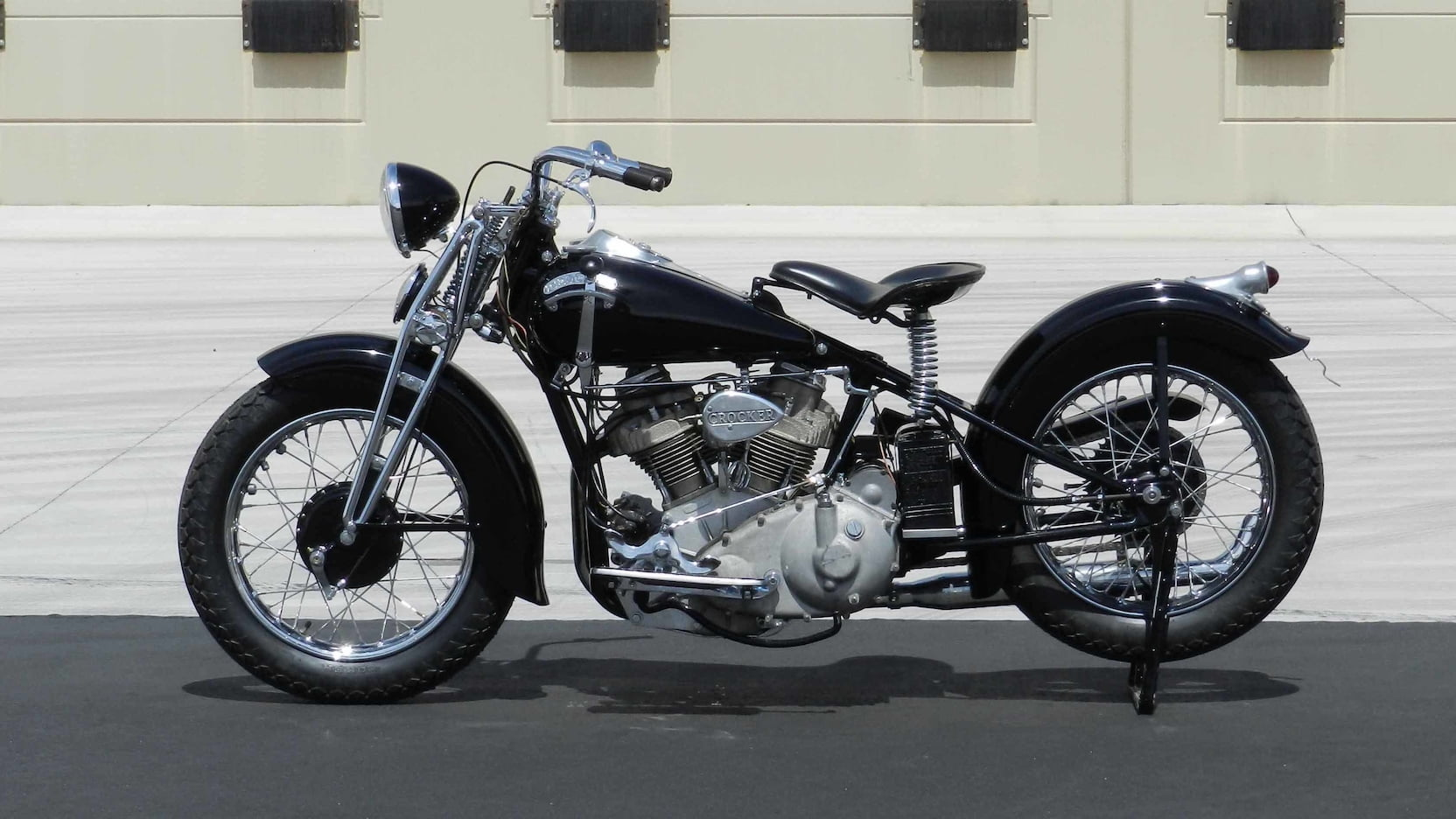 This Crocker motorcycle is worth 10 Harley-Davidsons. But why? thumbnail