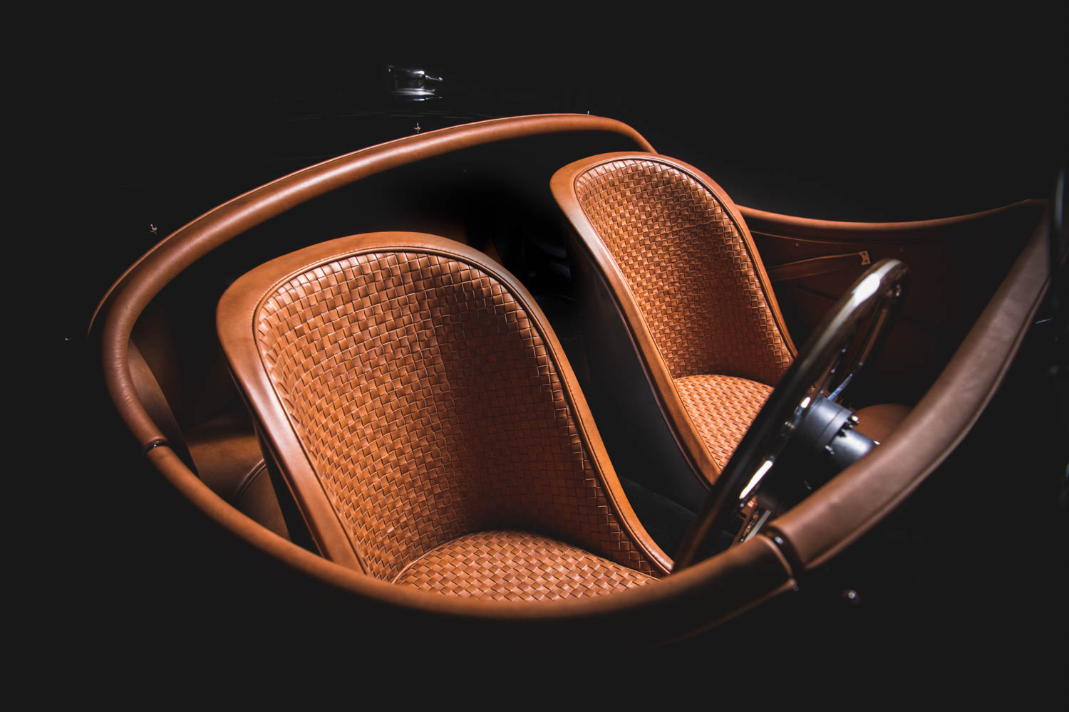 Jaguar XK120 seats