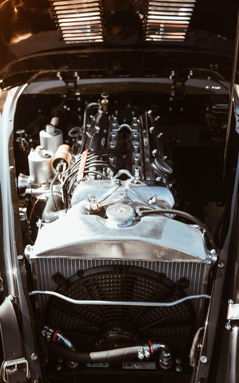 Jaguar XK120 motor