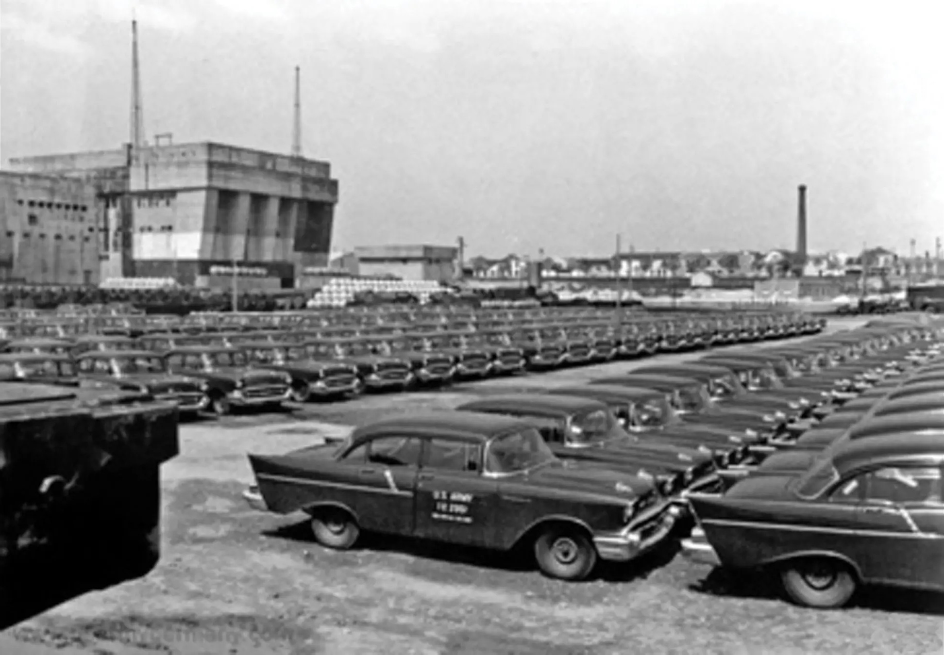 1957 Chevrolet Model 1503 Military Staff Car historic picture