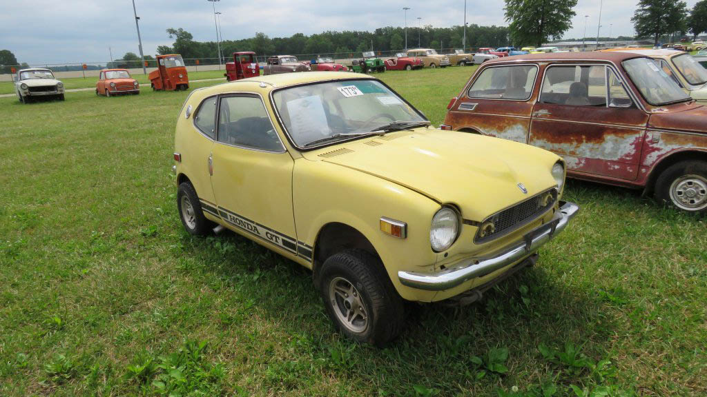 1971 Honda Z600 before restoration