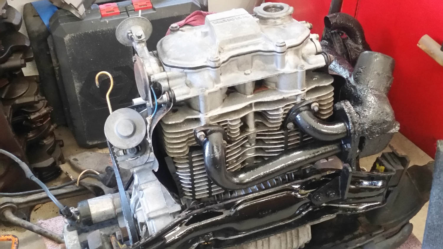1971 Honda Z600 engine