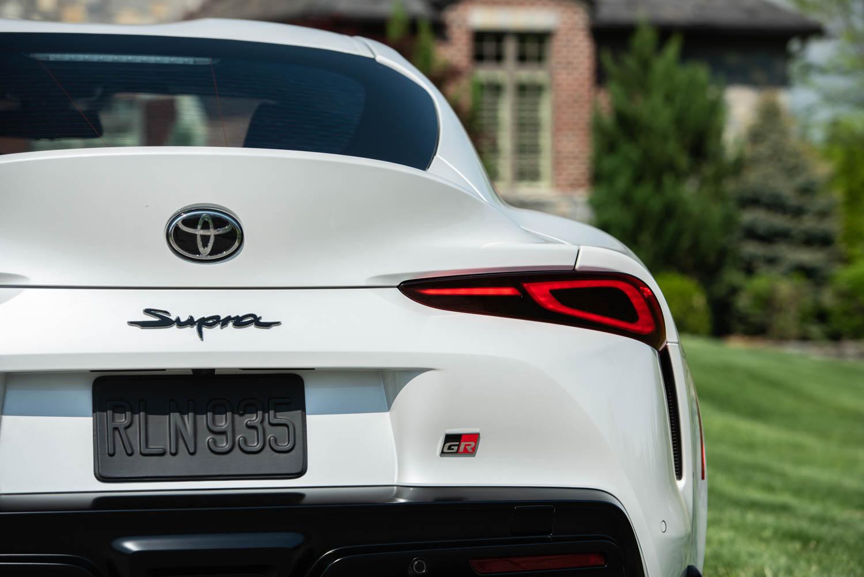 2020 Toyota Supra GR rear